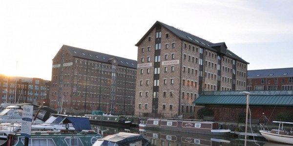 Albert & Britannia Warehouses, Gloucester Docks